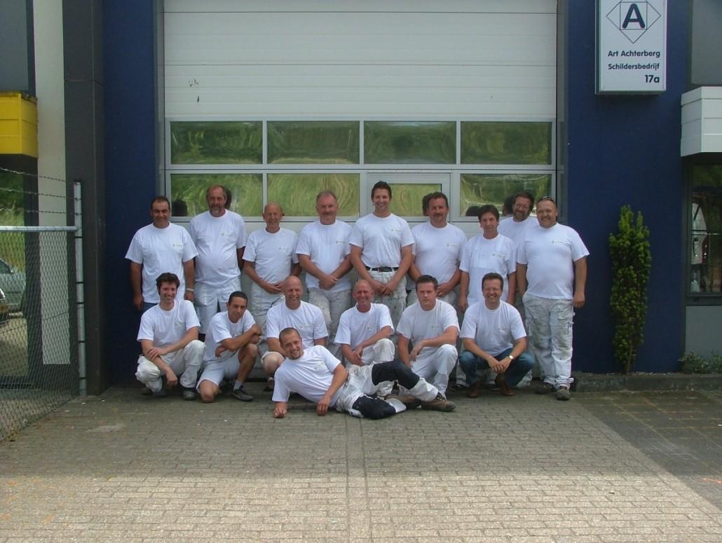 2010 team Achterberg Schilders