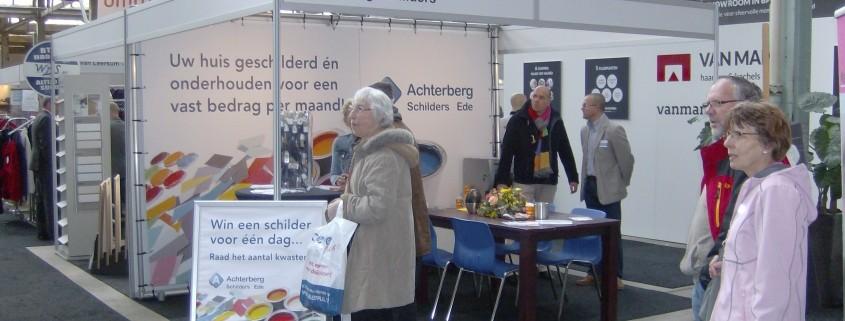 Achterberg Schilders staat op de Beleef Plus Beurs