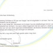 Achterberg Schilders felicitatie Gemeente Ede