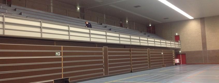 Sporthal West Veenendaal schilderen
