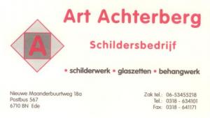 Visitekaartje Art