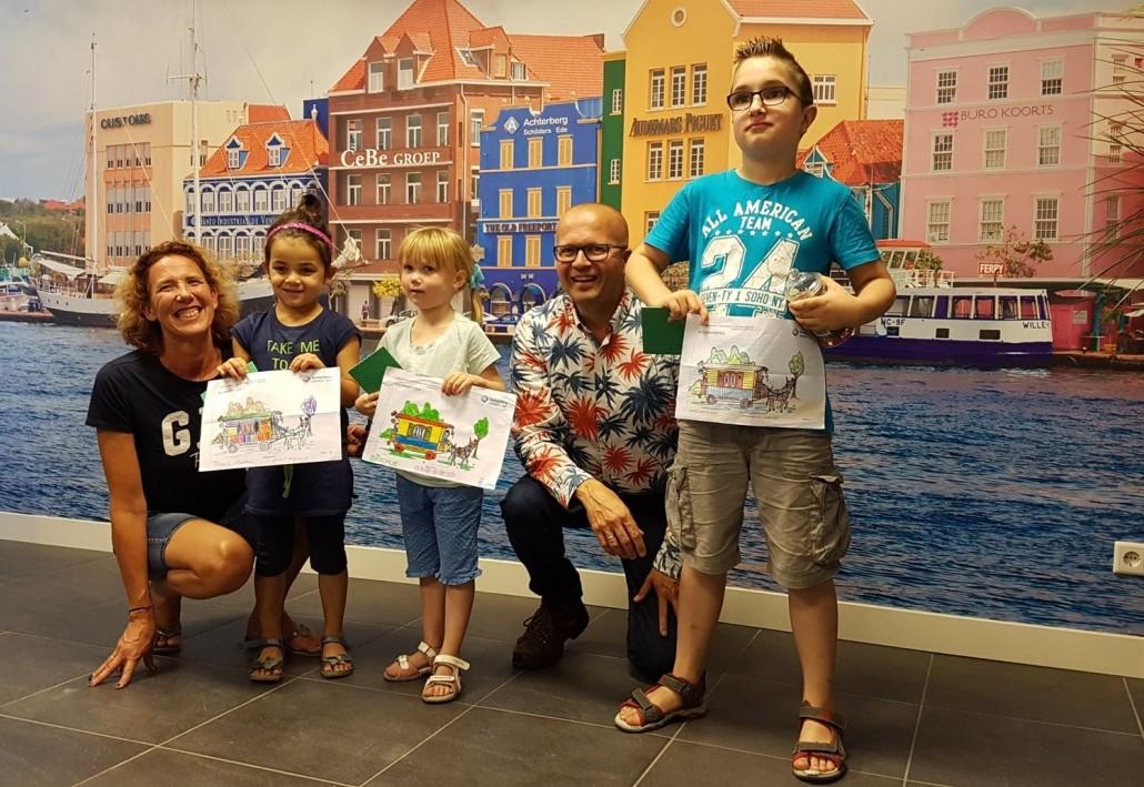 Winnaars Pipowagen Kleurwedstrijd