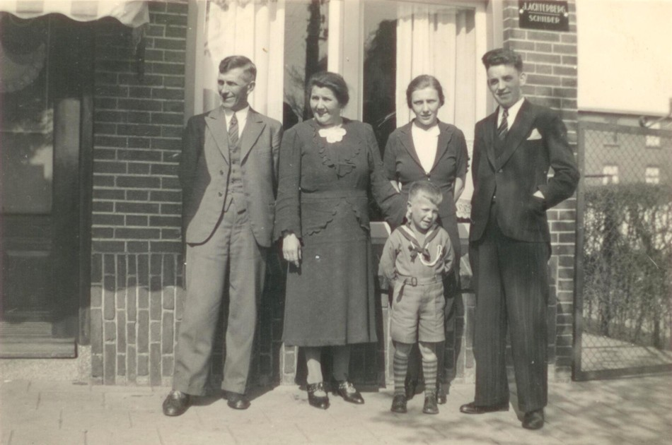 1940 Achterberg schilder 1e generatie