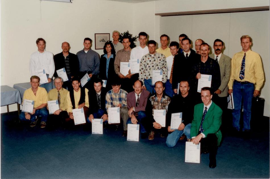 1997 Arts schilderscertificaat behaald