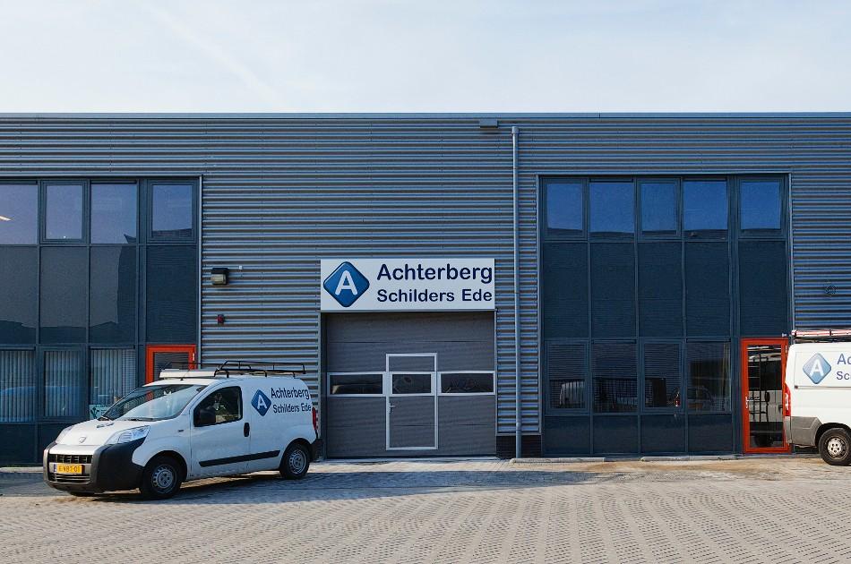 2011 bedrijfspand Achterberg Schilders