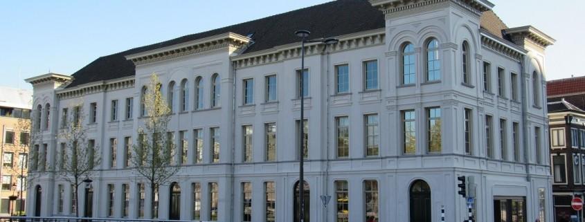 Schilderwerk aan Rijksmonument in Utrecht