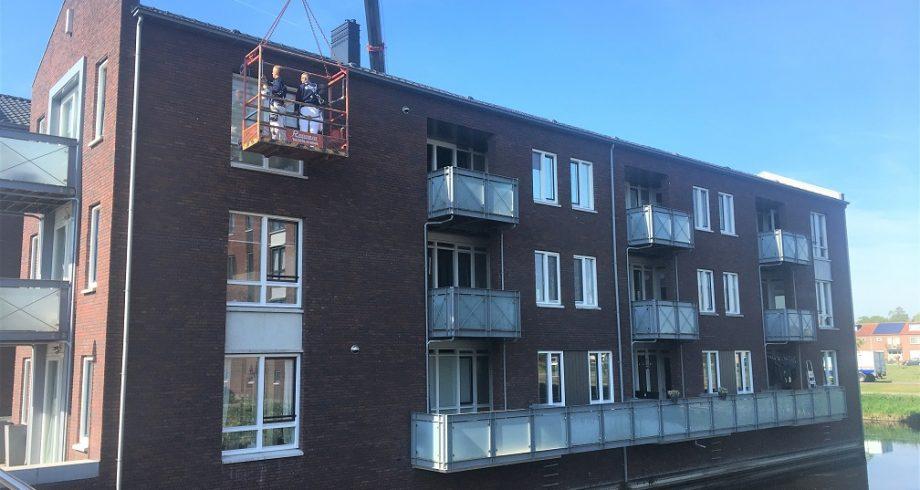 Buitenschilderwerk VvE Spakenburg