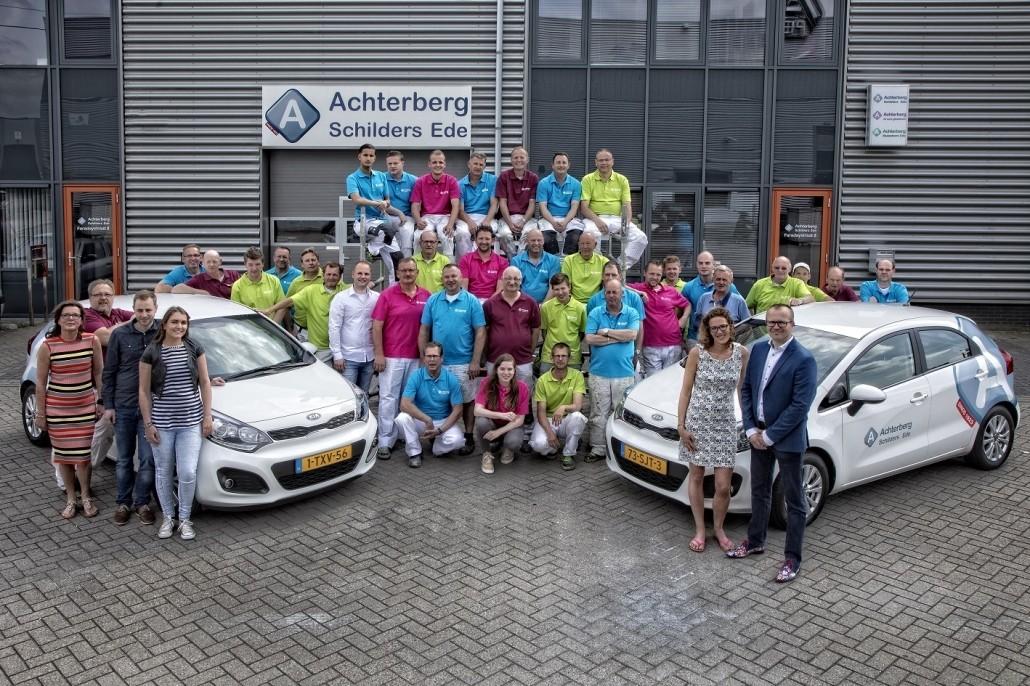 Groepsfoto Achterberg Schilders