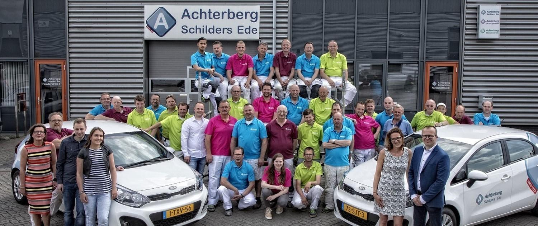 Het team van Achterberg Schilders