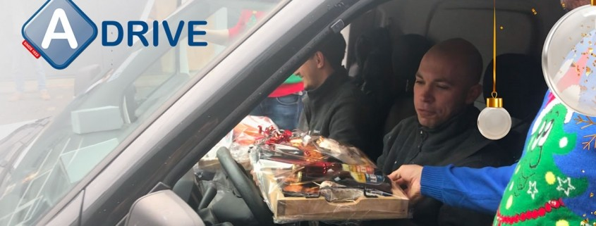 Kerst vieren vanuit de auto in Achterbergs kerstpakketten-drive-thru