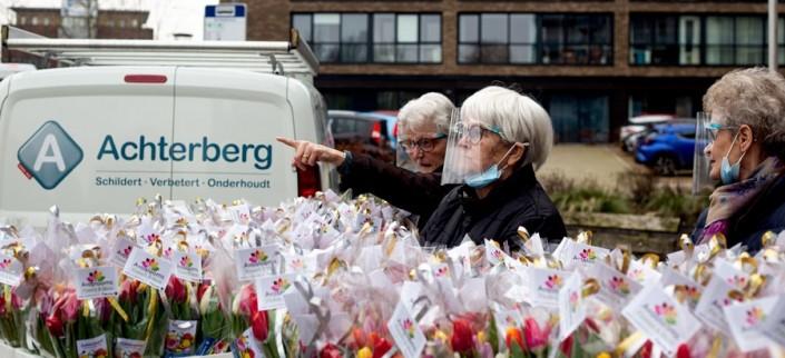Bloemen voor De Gelderhorst