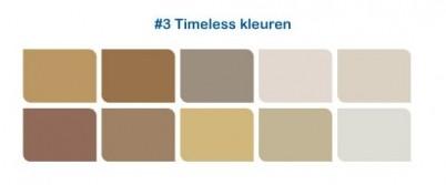 timeless kleuren
